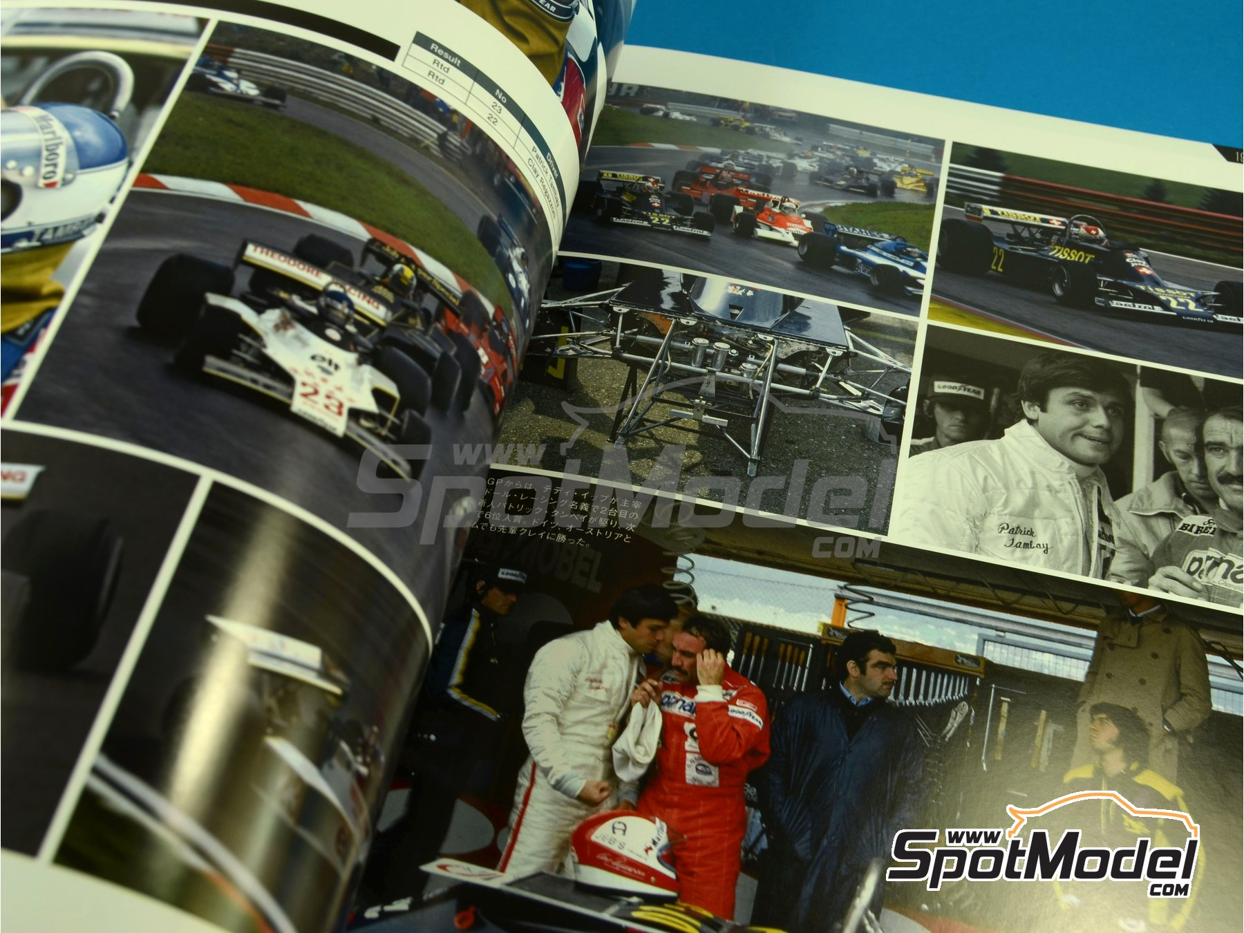 Image 4: Joe Honda Racing Pictorial Series - Grand Prix 1977, Part 01 | Reference / walkaround book manufactured by Model Factory Hiro (ref. MFH-JH35)