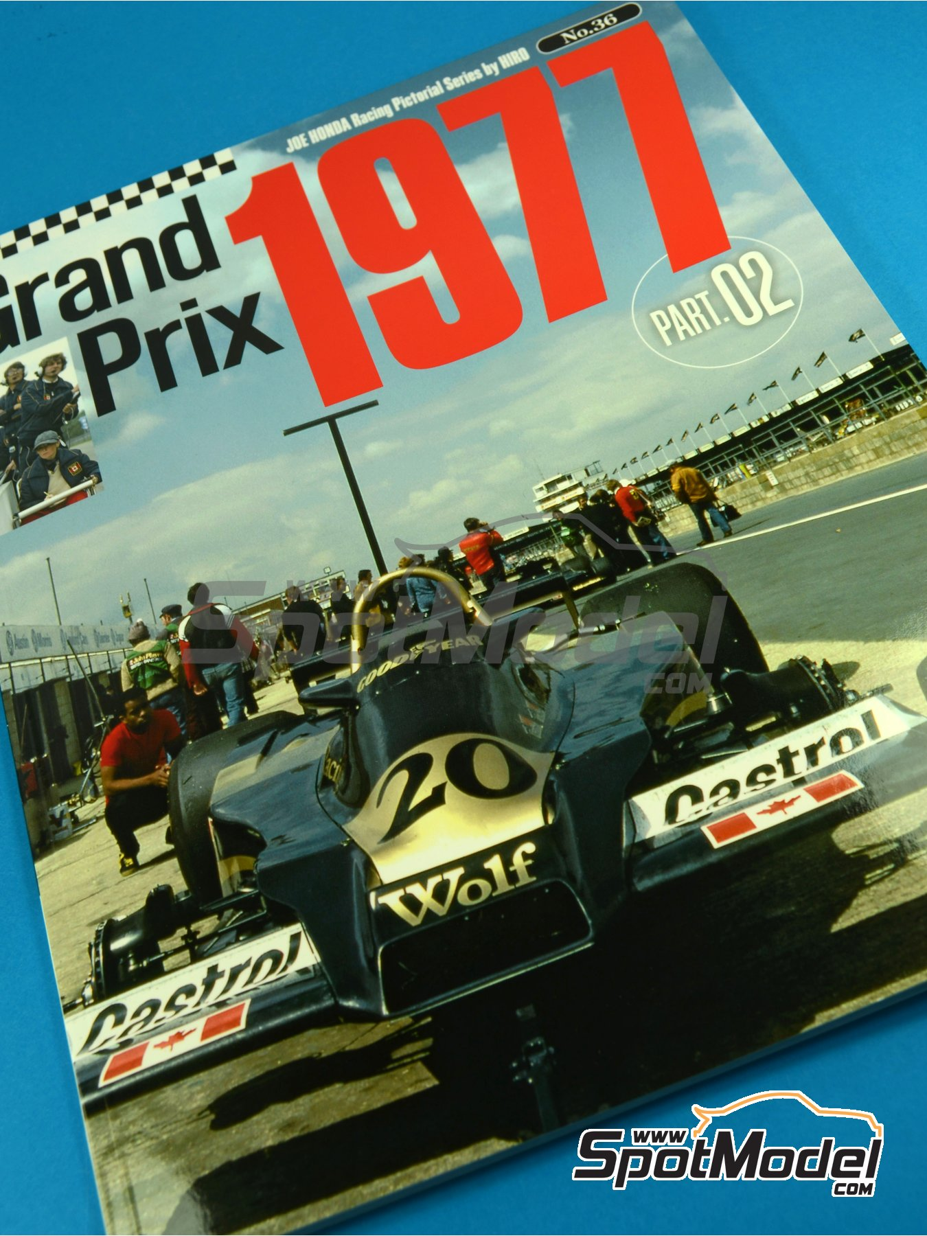 JOE HONDA Racing Pictorial Series - Grand Prix 1977, Part 02 | Reference / walkaround book manufactured by Model Factory Hiro (ref.MFH-JH36) image
