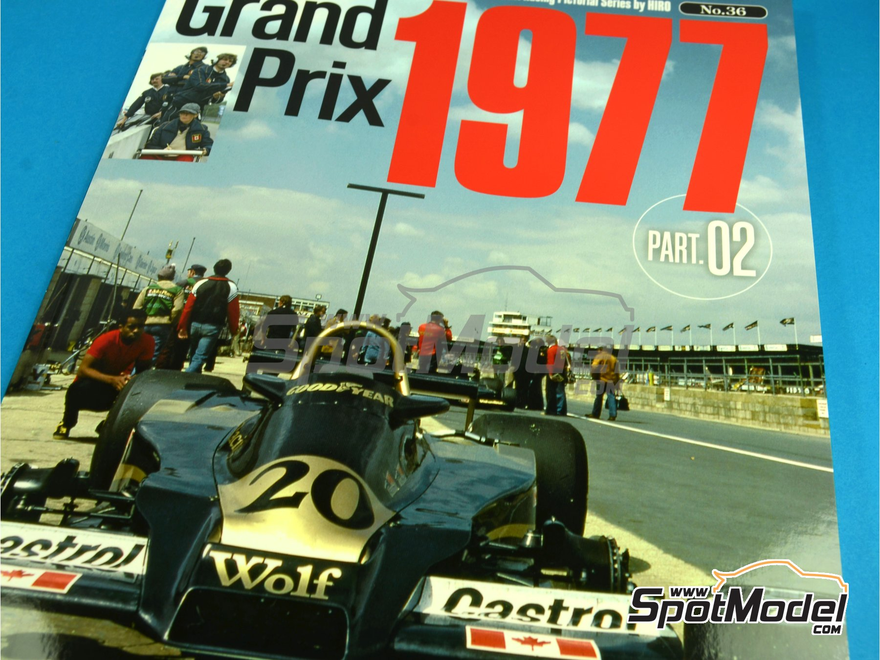 Image 1: JOE HONDA Racing Pictorial Series - Grand Prix 1977, Part 02 | Reference / walkaround book manufactured by Model Factory Hiro (ref.MFH-JH36)