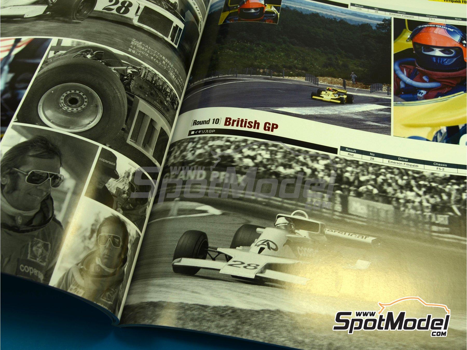 Image 4: JOE HONDA Racing Pictorial Series - Grand Prix 1977, Part 02 | Reference / walkaround book manufactured by Model Factory Hiro (ref.MFH-JH36)