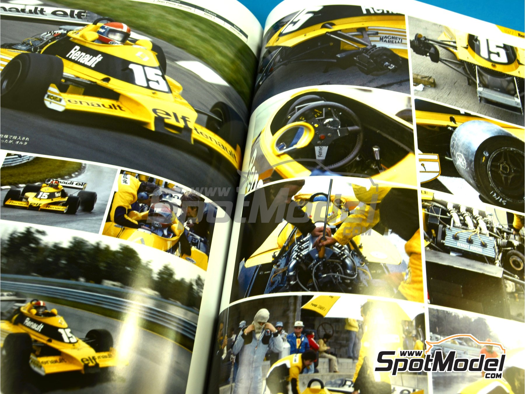 Image 5: JOE HONDA Racing Pictorial Series - Grand Prix 1977, Part 02 | Reference / walkaround book manufactured by Model Factory Hiro (ref.MFH-JH36)