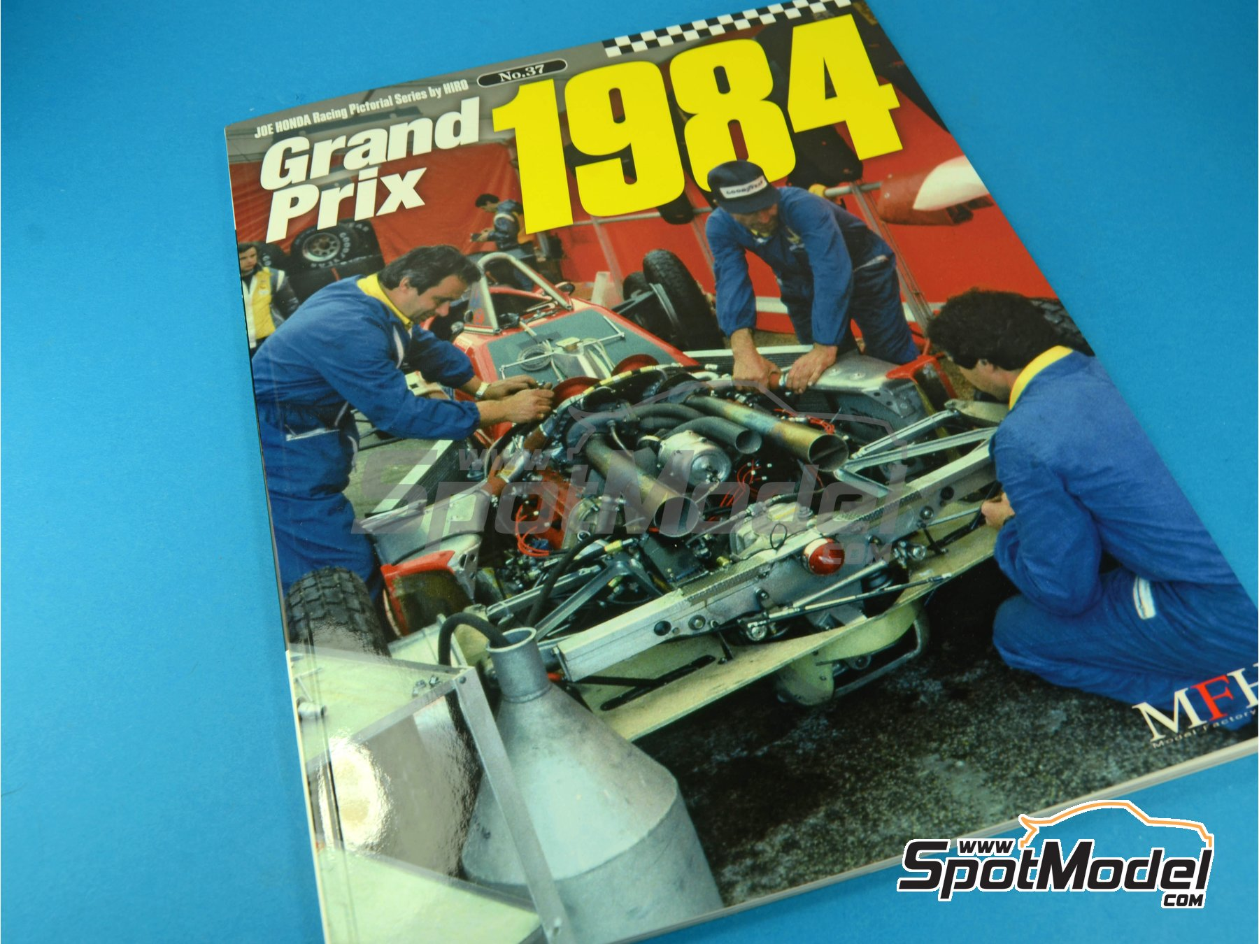 Image 1: JOE HONDA Racing Pictorial Series - Grand Prix -  1984 | Reference / walkaround book manufactured by Model Factory Hiro (ref. MFH-JH37)