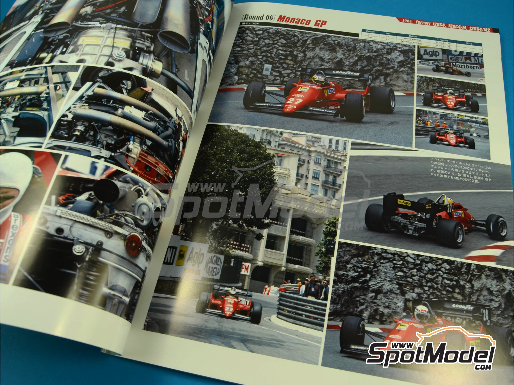 Image 3: JOE HONDA Racing Pictorial Series - Grand Prix -  1984 | Reference / walkaround book manufactured by Model Factory Hiro (ref. MFH-JH37)
