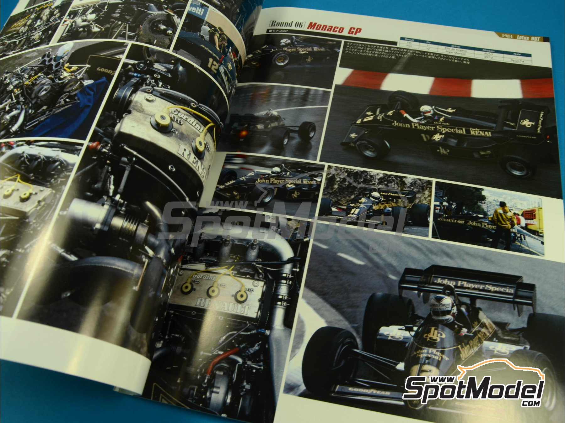 Image 4: JOE HONDA Racing Pictorial Series - Grand Prix -  1984 | Reference / walkaround book manufactured by Model Factory Hiro (ref. MFH-JH37)
