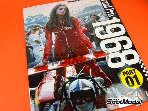 Image 1: Joe Honda Racing Pictorial Series: Grand Prix 1968, parte 1 -  1968 | Libro de referencia fabricado por Model Factory Hiro (ref.MFH-JH38)