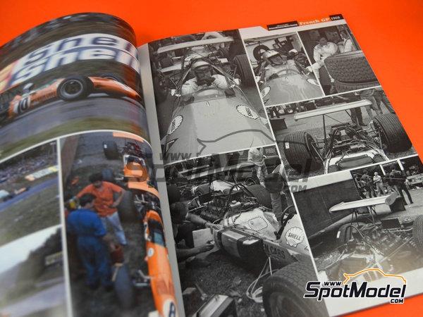 Image 2: Joe Honda Racing Pictorial Series: Grand Prix 1968, parte 1 -  1968 | Libro de referencia fabricado por Model Factory Hiro (ref.MFH-JH38)