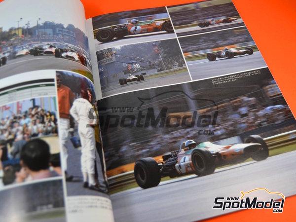 Image 3: Joe Honda Racing Pictorial Series: Grand Prix 1968, parte 1 -  1968 | Libro de referencia fabricado por Model Factory Hiro (ref.MFH-JH38)