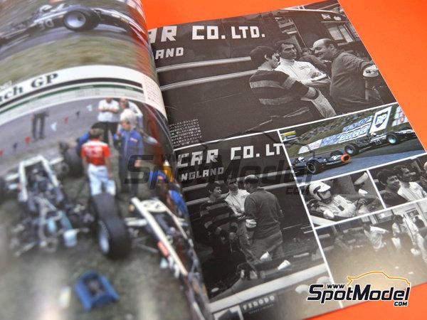 Image 5: Joe Honda Racing Pictorial Series: Grand Prix 1968, parte 1 -  1968 | Libro de referencia fabricado por Model Factory Hiro (ref.MFH-JH38)