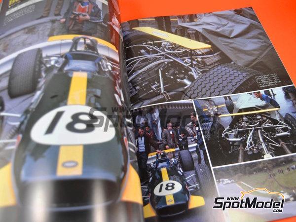 Image 6: Joe Honda Racing Pictorial Series: Grand Prix 1968, parte 1 -  1968 | Libro de referencia fabricado por Model Factory Hiro (ref.MFH-JH38)