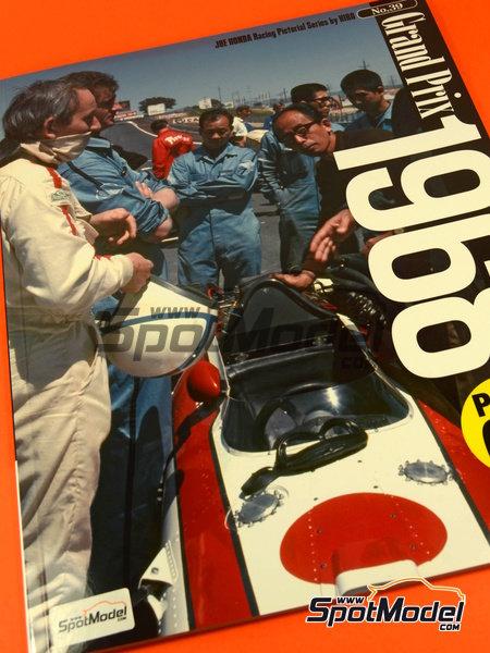 Joe Honda Racing Pictorial Series: Grand Prix 1968, part 2 -  1968 | Reference / walkaround book manufactured by Model Factory Hiro (ref.MFH-JH39) image