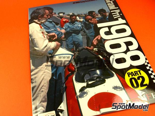 Image 1: Joe Honda Racing Pictorial Series: Grand Prix 1968, part 2 -  1968 | Reference / walkaround book manufactured by Model Factory Hiro (ref.MFH-JH39)
