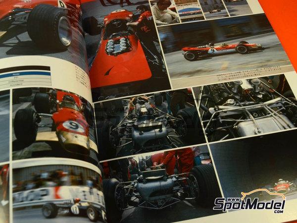 Image 2: Joe Honda Racing Pictorial Series: Grand Prix 1968, part 2 -  1968 | Reference / walkaround book manufactured by Model Factory Hiro (ref.MFH-JH39)