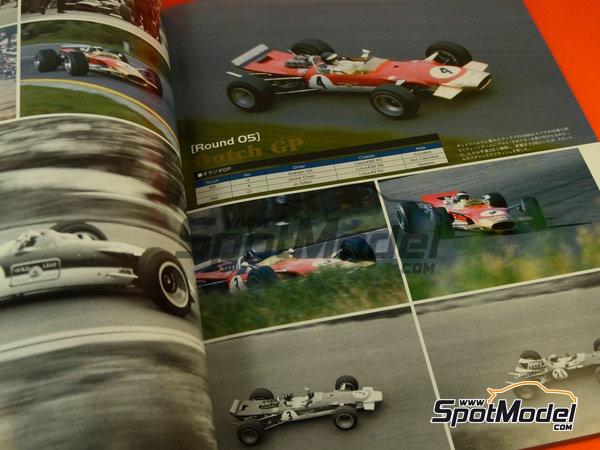 Image 3: Joe Honda Racing Pictorial Series: Grand Prix 1968, part 2 -  1968 | Reference / walkaround book manufactured by Model Factory Hiro (ref.MFH-JH39)