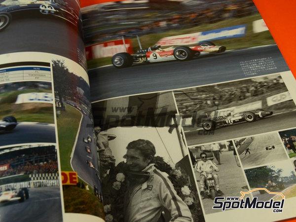 Image 4: Joe Honda Racing Pictorial Series: Grand Prix 1968, part 2 -  1968 | Reference / walkaround book manufactured by Model Factory Hiro (ref.MFH-JH39)