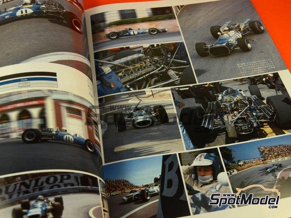 Image 5: Joe Honda Racing Pictorial Series: Grand Prix 1968, part 2 -  1968 | Reference / walkaround book manufactured by Model Factory Hiro (ref.MFH-JH39)