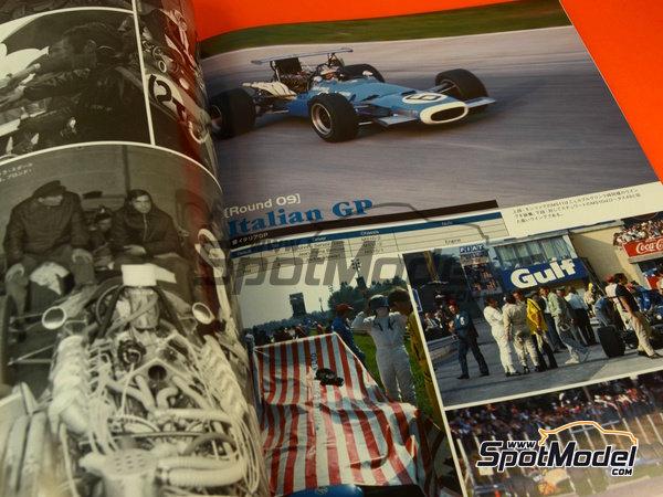 Image 6: Joe Honda Racing Pictorial Series: Grand Prix 1968, part 2 -  1968 | Reference / walkaround book manufactured by Model Factory Hiro (ref.MFH-JH39)
