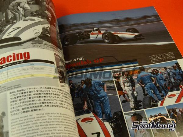 Image 7: Joe Honda Racing Pictorial Series: Grand Prix 1968, part 2 -  1968 | Reference / walkaround book manufactured by Model Factory Hiro (ref.MFH-JH39)