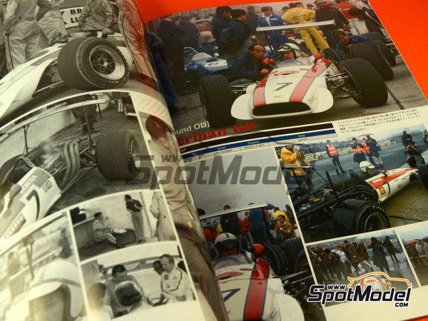 Image 8: Joe Honda Racing Pictorial Series: Grand Prix 1968, part 2 -  1968 | Reference / walkaround book manufactured by Model Factory Hiro (ref.MFH-JH39)