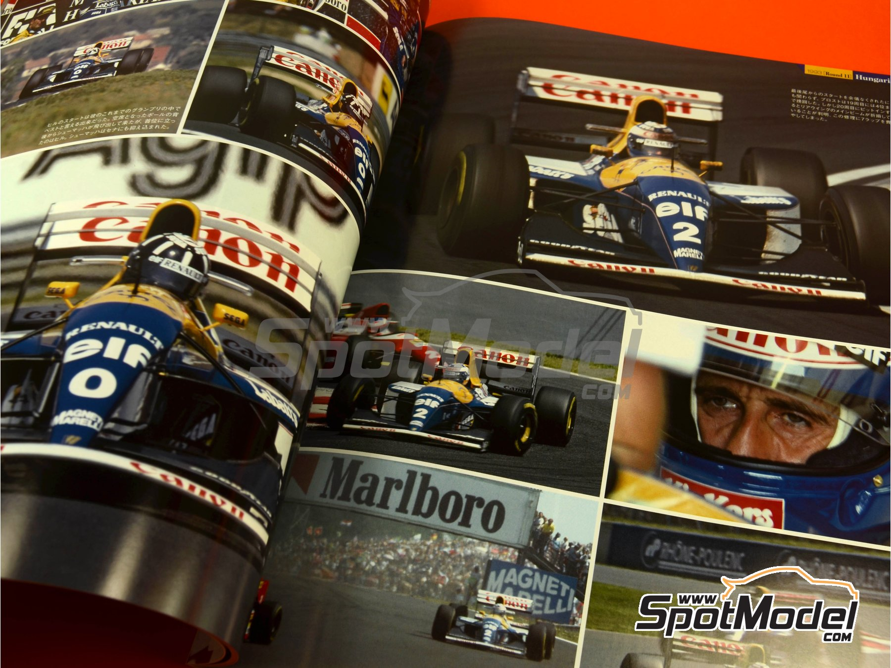 Image 4: Joe Honda Racing Pictorial Series: Williams FW15C - FIA Formula 1 World Championship 1993 | Reference / walkaround book manufactured by Model Factory Hiro (ref. MFH-JH40)