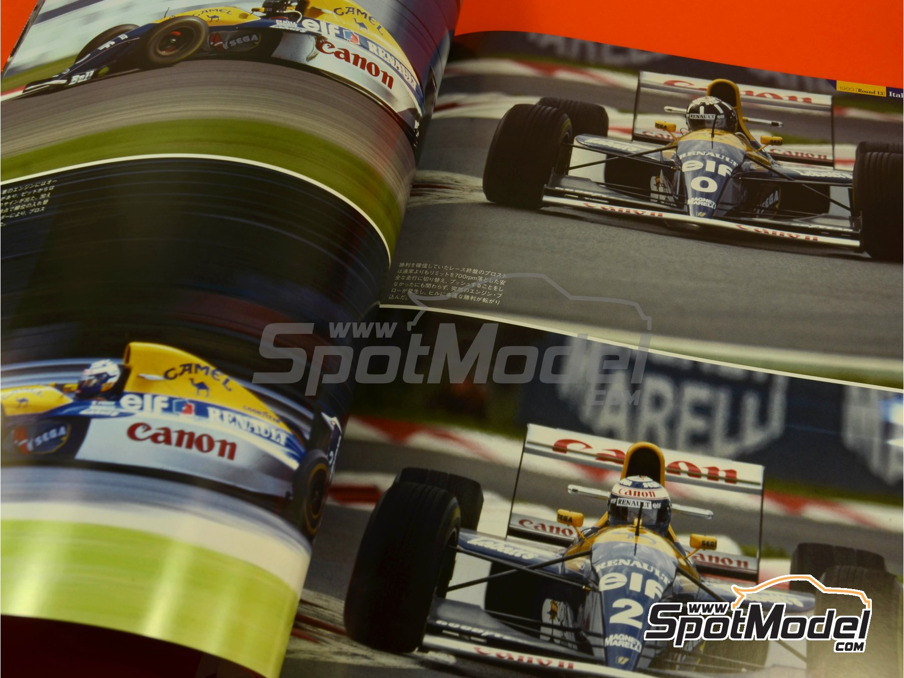 Image 5: Joe Honda Racing Pictorial Series: Williams FW15C - FIA Formula 1 World Championship 1993 | Reference / walkaround book manufactured by Model Factory Hiro (ref. MFH-JH40)