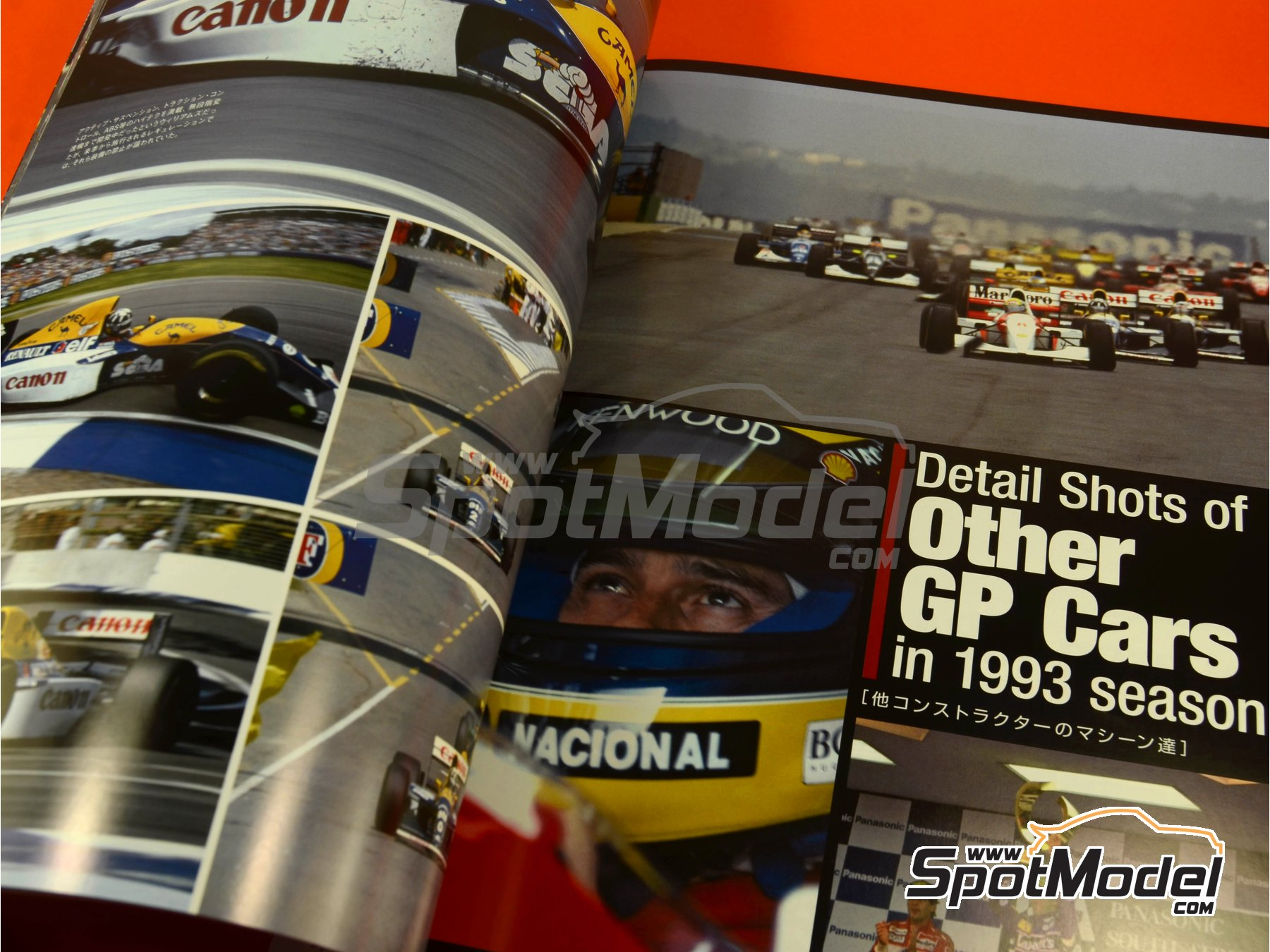 Image 6: Joe Honda Racing Pictorial Series: Williams FW15C - FIA Formula 1 World Championship 1993 | Reference / walkaround book manufactured by Model Factory Hiro (ref. MFH-JH40)