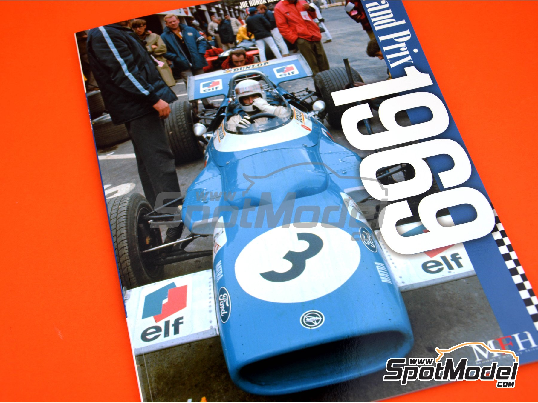 Image 1: Joe Honda Racing Pictorial Series: Grand Prix - FIA Formula 1 World Championship 1969 | Reference / walkaround book manufactured by Model Factory Hiro (ref. MFH-JH41)