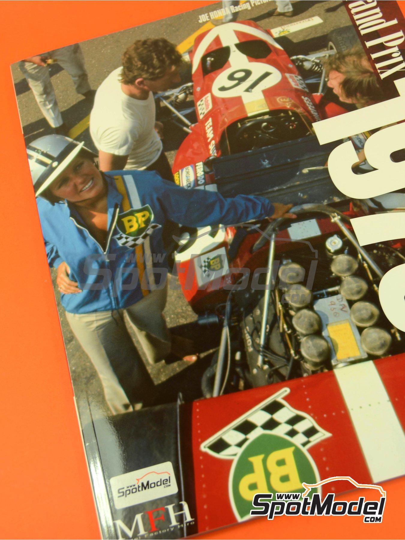 Joe Honda Racing Pictorial Series: Grand Prix, part 1 -  1970 | Libro de referencia fabricado por Model Factory Hiro (ref.MFH-JH42) image