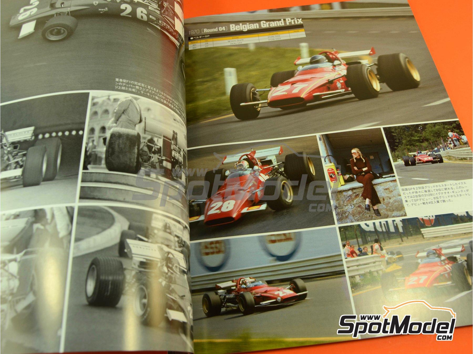 Image 2: Joe Honda Racing Pictorial Series: Grand Prix, part 1 -  1970 | Libro de referencia fabricado por Model Factory Hiro (ref.MFH-JH42)