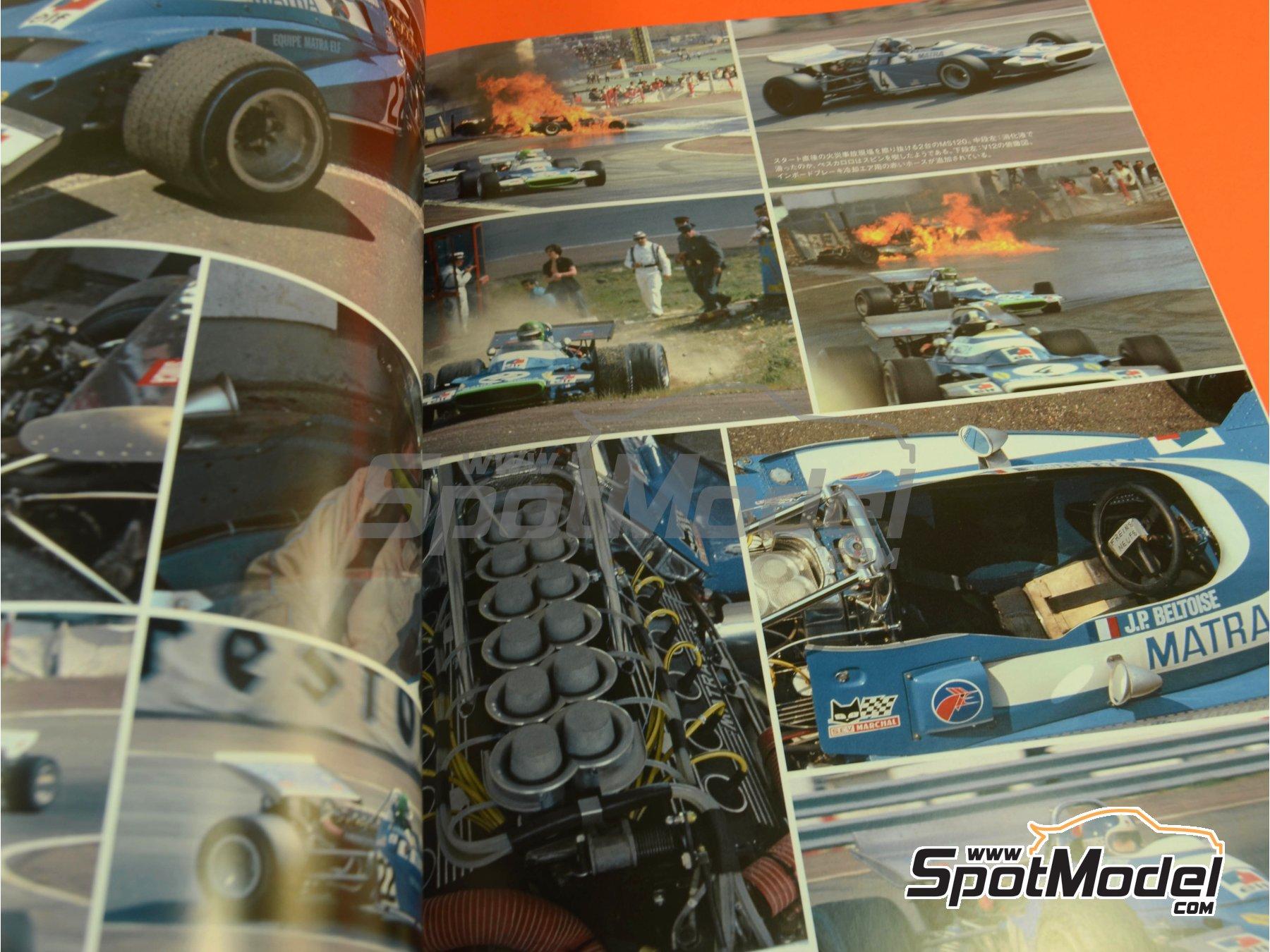 Image 7: Joe Honda Racing Pictorial Series: Grand Prix, part 1 -  1970 | Libro de referencia fabricado por Model Factory Hiro (ref.MFH-JH42)
