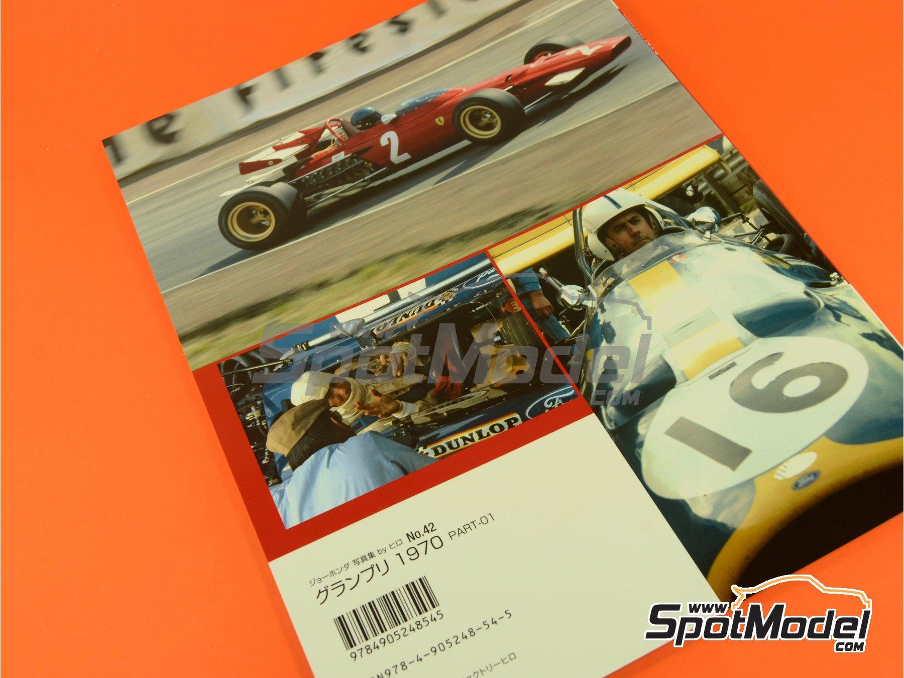 Image 10: Joe Honda Racing Pictorial Series: Grand Prix, part 1 -  1970 | Libro de referencia fabricado por Model Factory Hiro (ref.MFH-JH42)