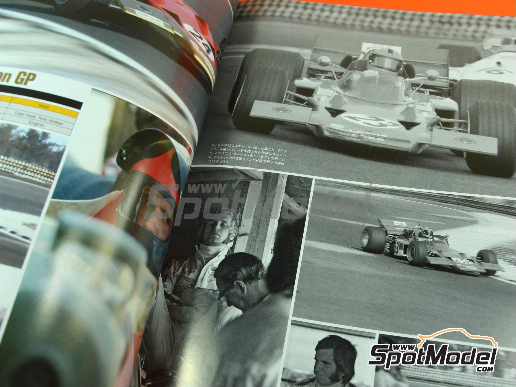 Image 5: Joe Honda Racing Pictorial Series: Grand Prix, part 2 -  1970 | Reference / walkaround book manufactured by Model Factory Hiro (ref.MFH-JH43)