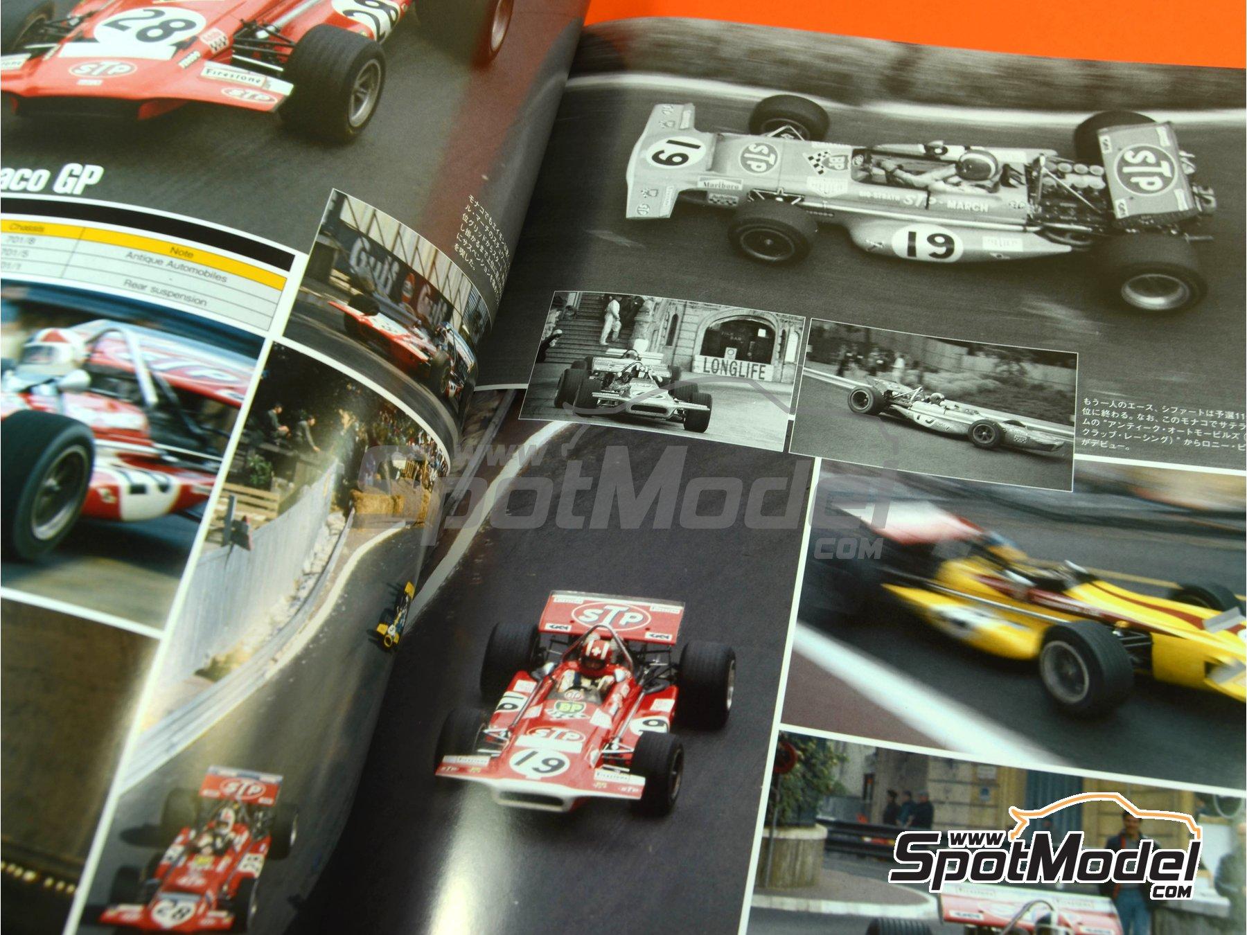 Image 6: Joe Honda Racing Pictorial Series: Grand Prix, part 2 -  1970 | Reference / walkaround book manufactured by Model Factory Hiro (ref.MFH-JH43)