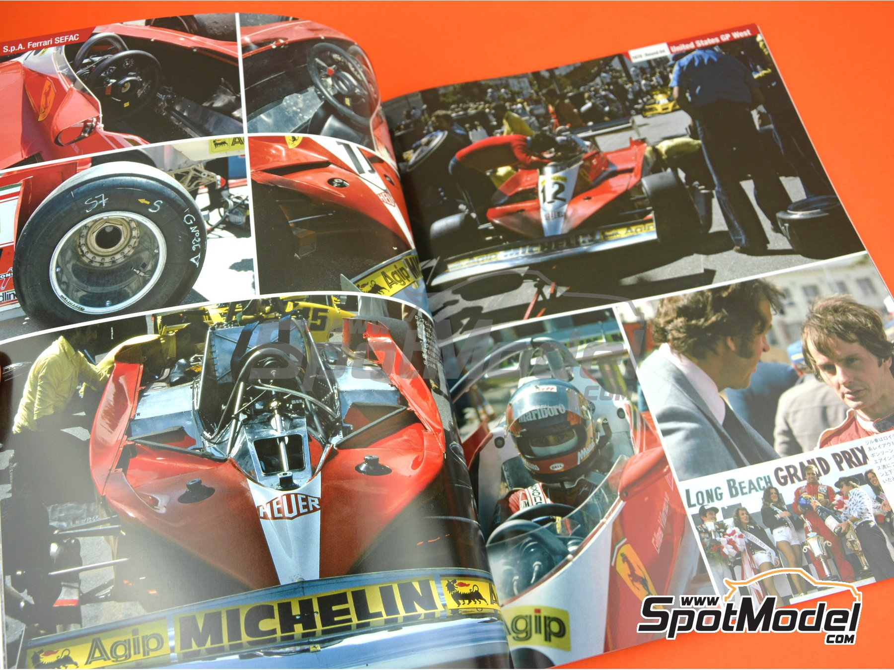 Image 4: Joe Honda Racing Pictorial Series: Grand Prix - FIA Formula 1 World Championship 1978 | Reference / walkaround book manufactured by Model Factory Hiro (ref. MFH-JH44)