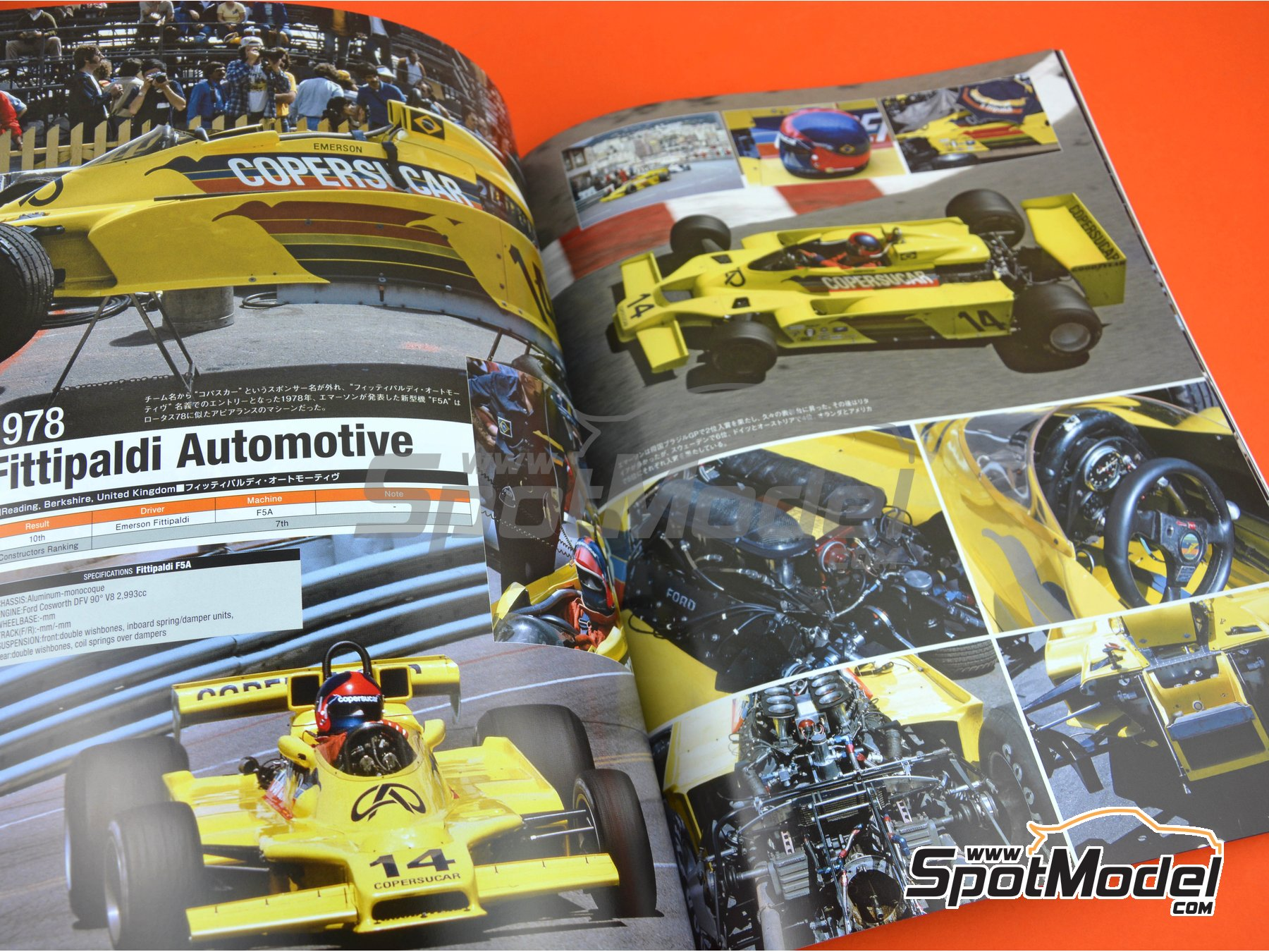 Image 6: Joe Honda Racing Pictorial Series: Grand Prix - FIA Formula 1 World Championship 1978 | Reference / walkaround book manufactured by Model Factory Hiro (ref. MFH-JH44)