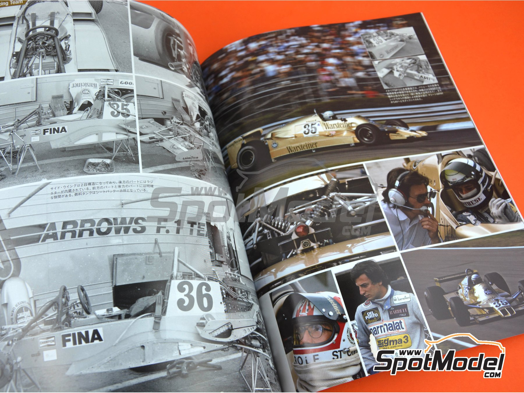 Image 7: Joe Honda Racing Pictorial Series: Grand Prix - FIA Formula 1 World Championship 1978 | Reference / walkaround book manufactured by Model Factory Hiro (ref. MFH-JH44)