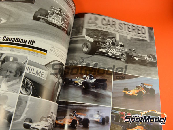 Image 5: Joe Honda Racing Pictorial Series: Grand Prix, parte 1 -  1971 | Libro de referencia fabricado por Model Factory Hiro (ref. MFH-JH45)