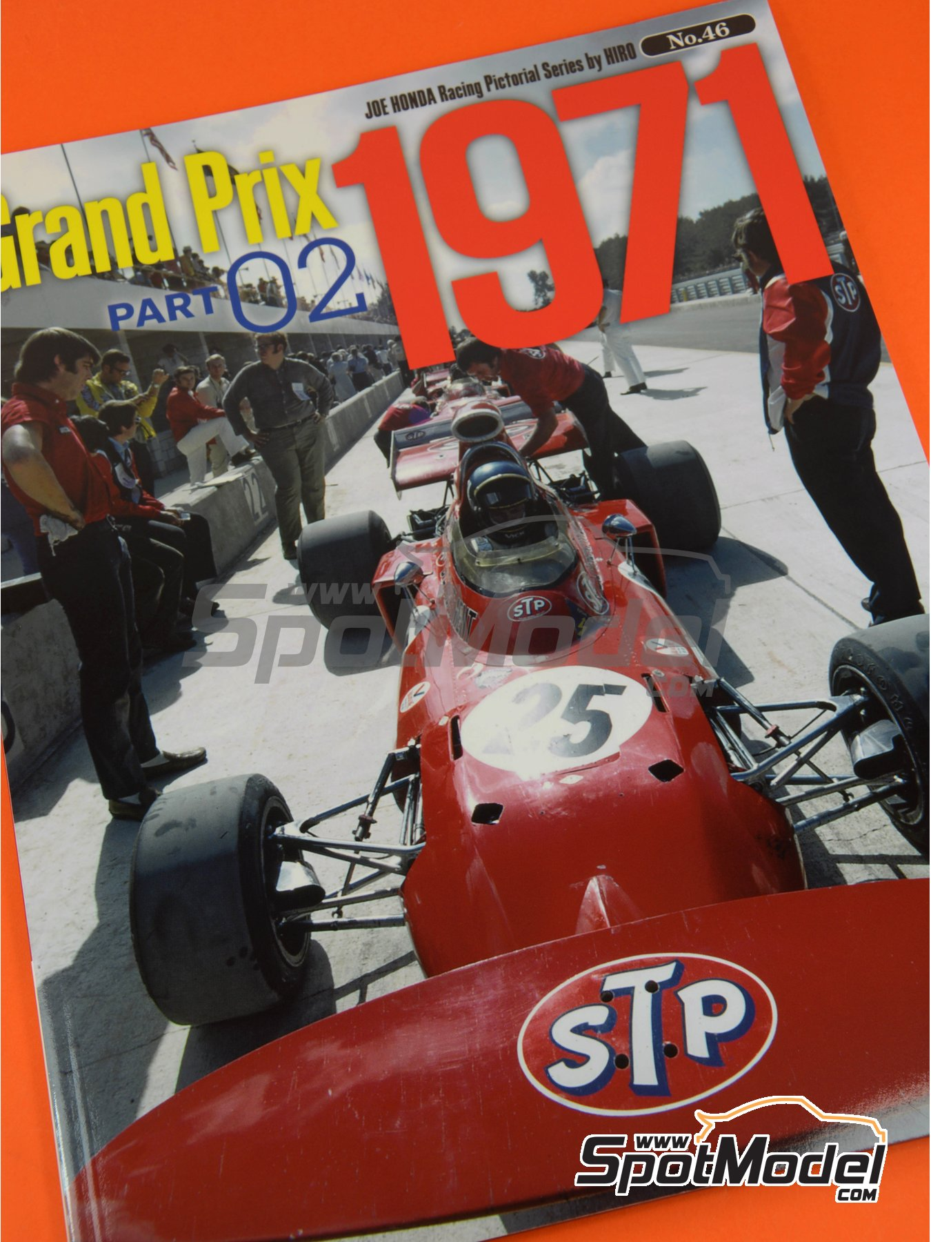 Joe Honda Racing Pictorial Series: Grand Prix, parte 2 -  1971 | Libro de referencia fabricado por Model Factory Hiro (ref.MFH-JH46) image