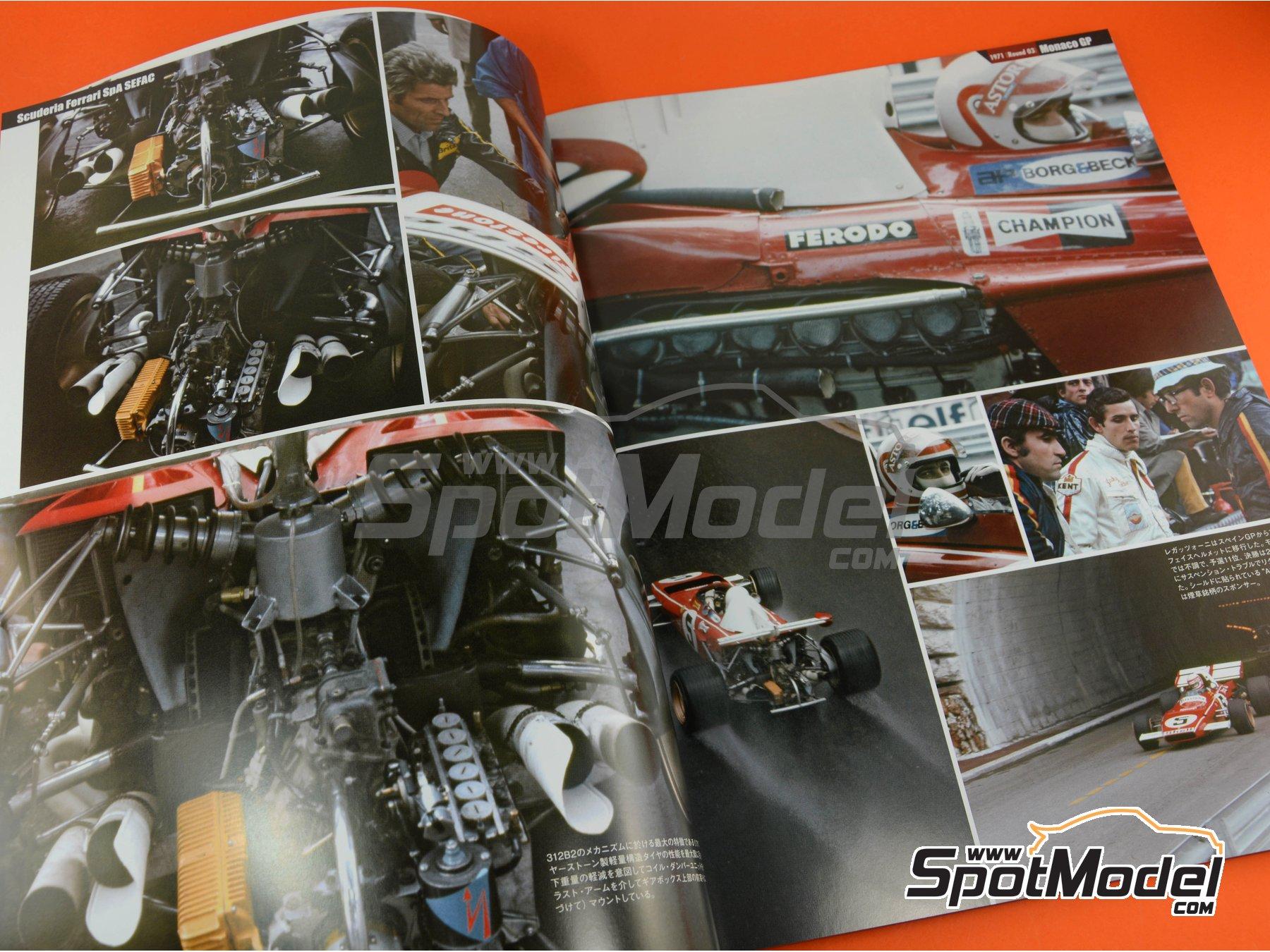 Image 3: Joe Honda Racing Pictorial Series: Grand Prix, parte 2 -  1971 | Libro de referencia fabricado por Model Factory Hiro (ref.MFH-JH46)
