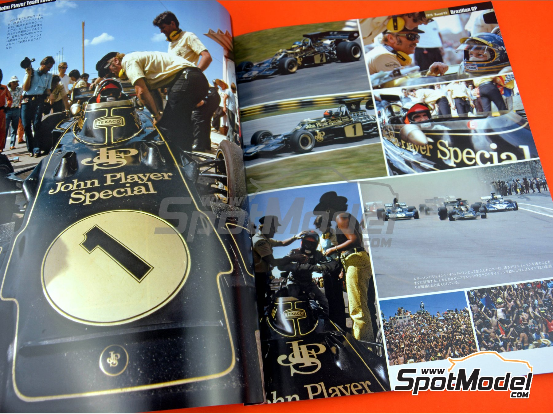 Image 4: Joe Honda Racing Pictorial Series: Grand Prix - 24 Hours of Daytona, 24 Hours Le Mans, FIA Formula 1 World Championship 1973 | Reference / walkaround book manufactured by Model Factory Hiro (ref. MFH-JH47)