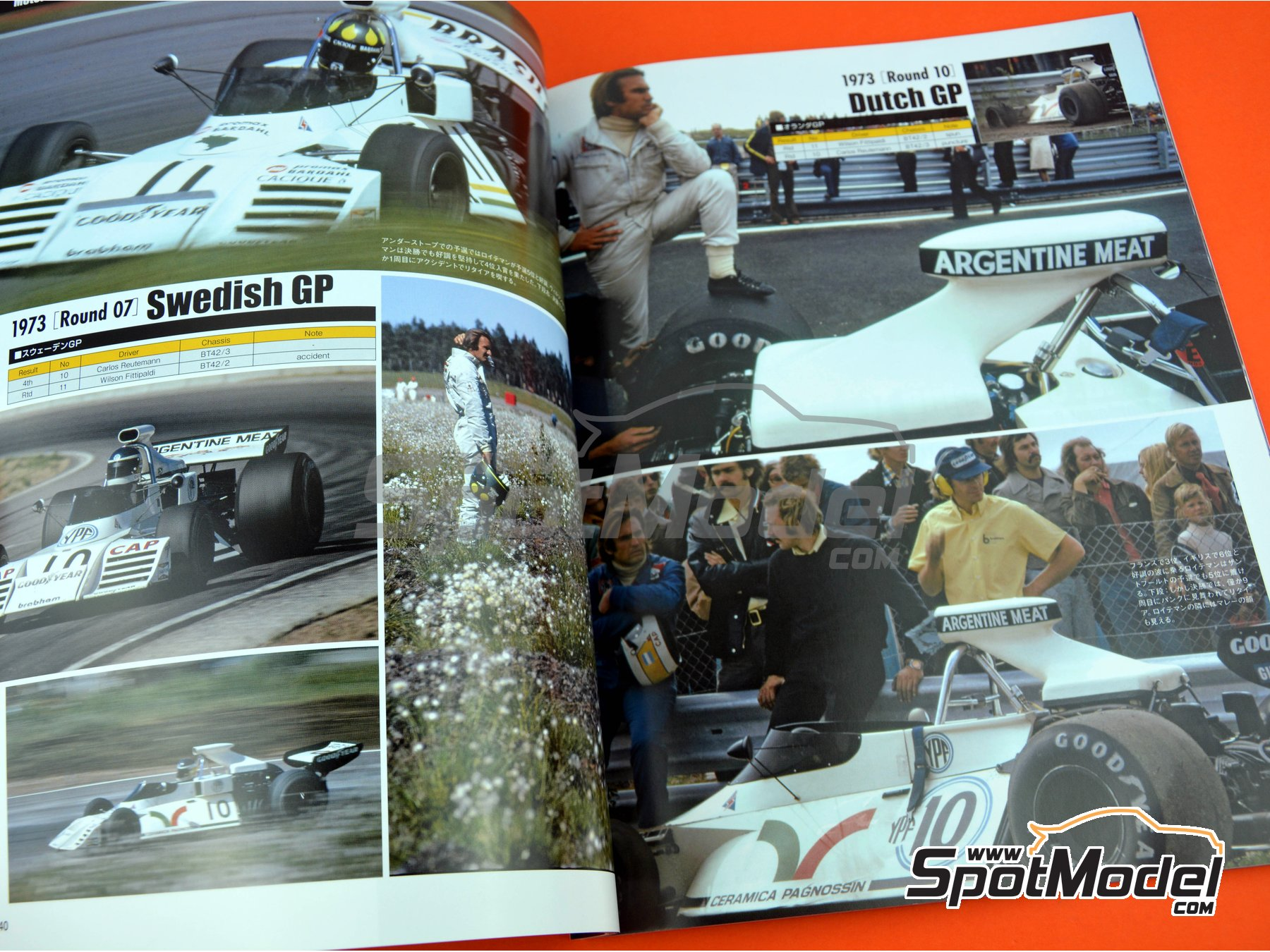 Image 5: Joe Honda Racing Pictorial Series: Grand Prix - 24 Hours of Daytona, 24 Hours Le Mans, FIA Formula 1 World Championship 1973 | Reference / walkaround book manufactured by Model Factory Hiro (ref. MFH-JH47)