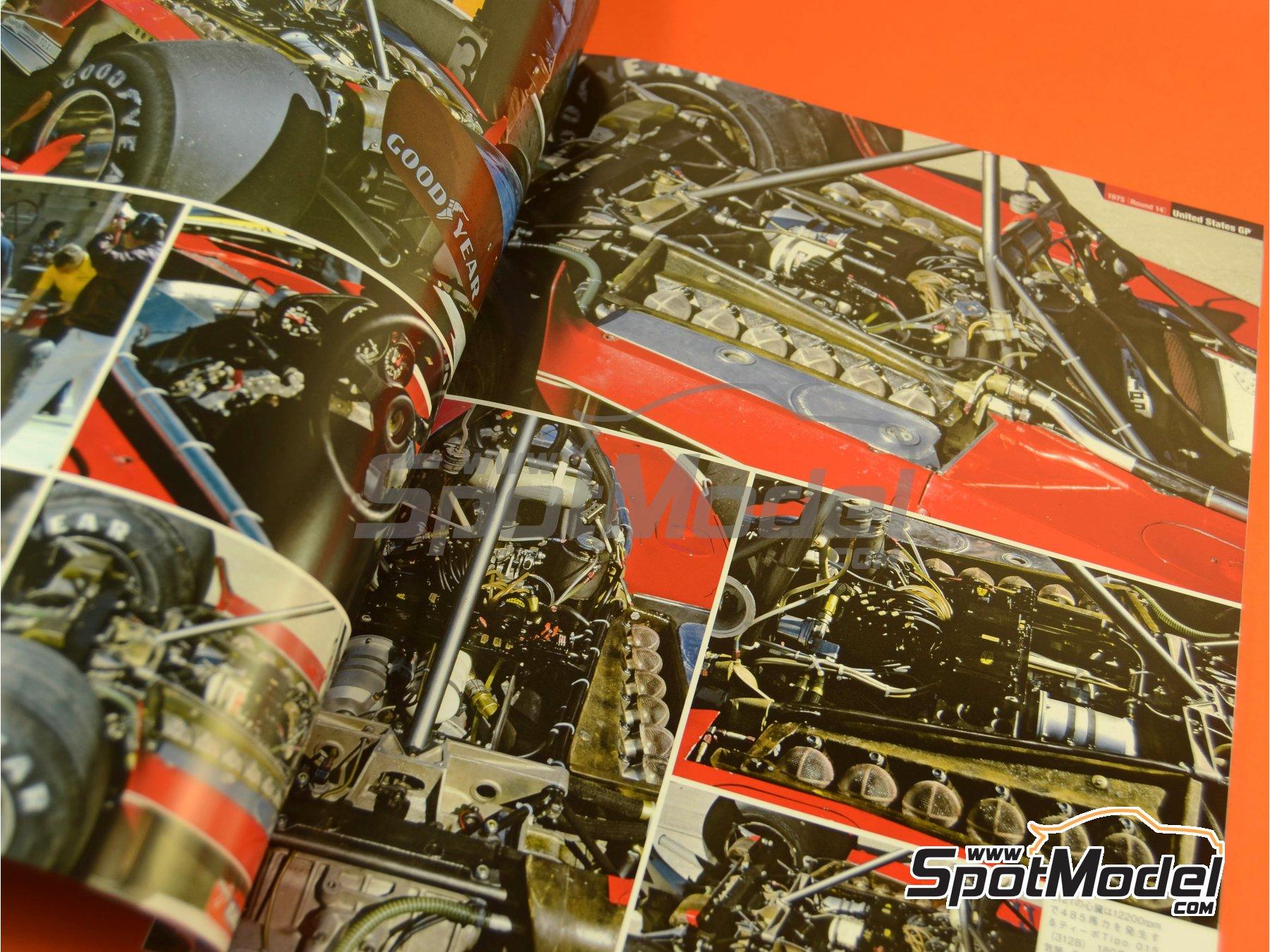 Image 2: Joe Honda Racing Pictorial Series: Grand Prix, parte 1 -  1975 | Libro de referencia fabricado por Model Factory Hiro (ref.MFH-JH50)