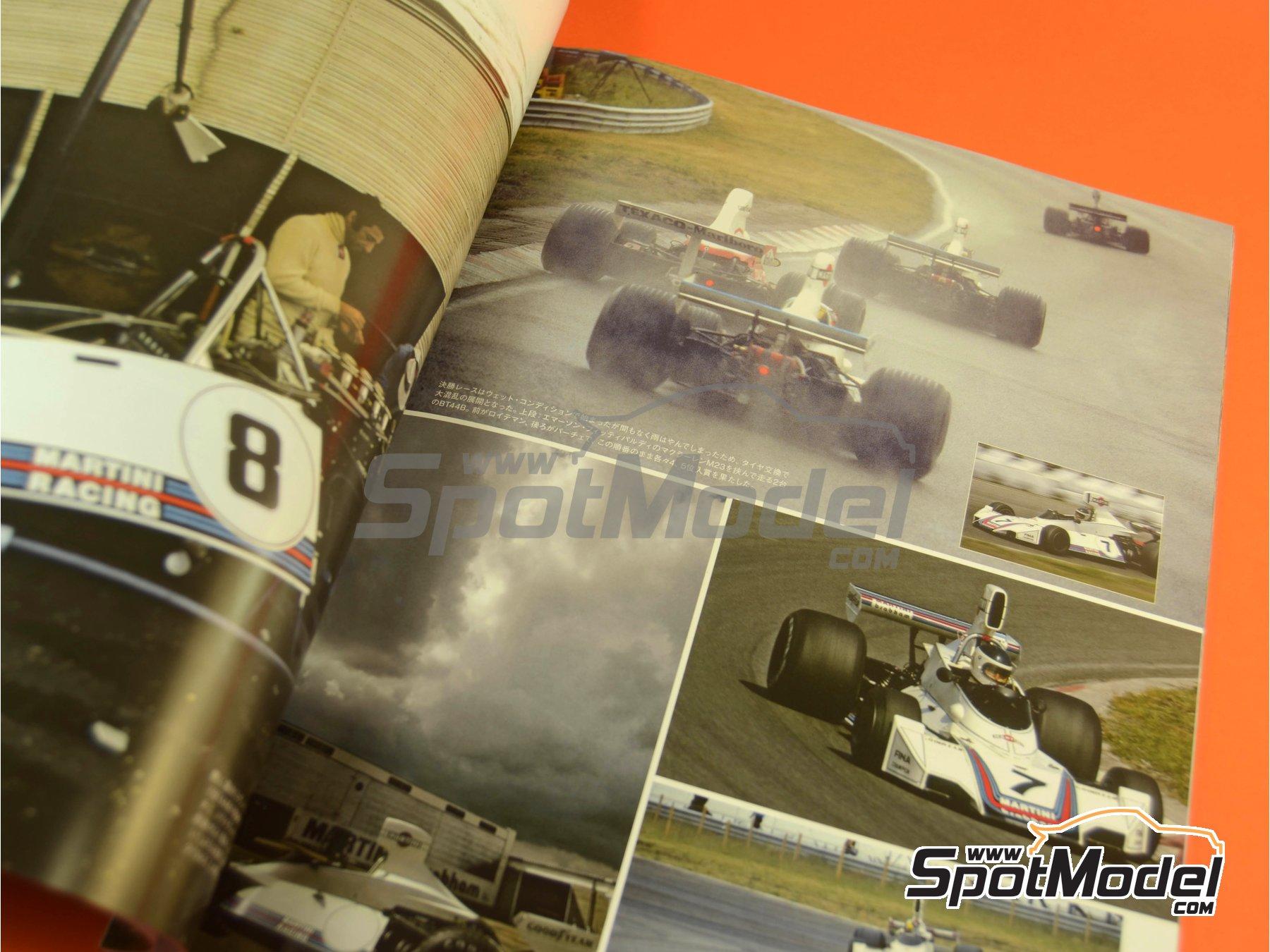 Image 3: Joe Honda Racing Pictorial Series: Grand Prix, parte 1 -  1975 | Libro de referencia fabricado por Model Factory Hiro (ref.MFH-JH50)