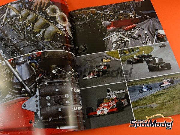 Image 2: Joe Honda Racing Pictorial Series: Grand Prix, parte 2 -  1975 | Libro de referencia fabricado por Model Factory Hiro (ref.MFH-JH51)