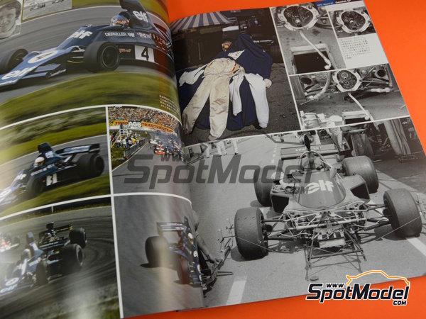 Image 3: Joe Honda Racing Pictorial Series: Grand Prix, parte 2 -  1975 | Libro de referencia fabricado por Model Factory Hiro (ref.MFH-JH51)