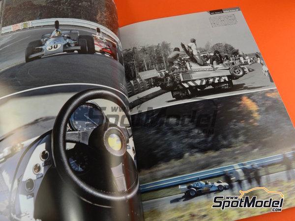 Image 6: Joe Honda Racing Pictorial Series: Grand Prix, parte 2 -  1975 | Libro de referencia fabricado por Model Factory Hiro (ref.MFH-JH51)