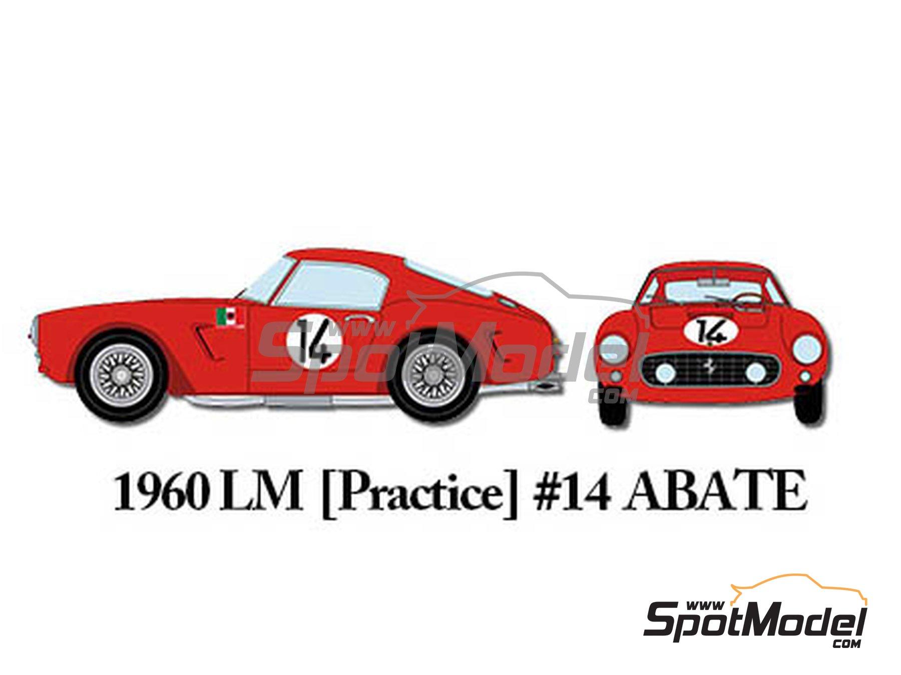 Image 10: Ferrari 250GT SWB Early - 24 Horas de Le Mans, Tour de France Automobile 1960 | Maqueta de coche en escala1/24 fabricado por Model Factory Hiro (ref.MFH-K293)