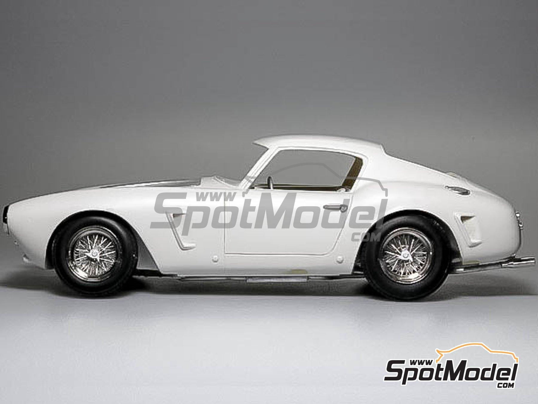 Image 2: Ferrari 250GT SWB Late - 24 Horas de Le Mans, Tour de France Automobile, RAC Tourist Trophy 1961 | Maqueta de coche en escala1/24 fabricado por Model Factory Hiro (ref.MFH-K294)