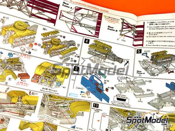Image 23: Porsche 917 LH Gulf - 24 Horas de Le Mans 1971 | Maqueta de coche en escala1/43 fabricado por Model Factory Hiro (ref.MFH-K348)