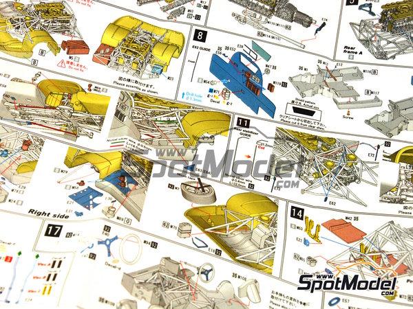 Image 24: Porsche 917 LH Gulf - 24 Horas de Le Mans 1971 | Maqueta de coche en escala1/43 fabricado por Model Factory Hiro (ref.MFH-K348)