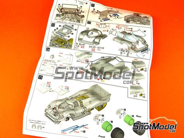 Image 26: Porsche 917 LH Gulf - 24 Horas de Le Mans 1971 | Maqueta de coche en escala1/43 fabricado por Model Factory Hiro (ref.MFH-K348)